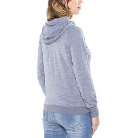 super.natural Essential Hoody Women Light Tempest 3D/Stone Blue